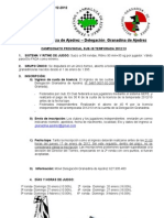 Circular 17-2012 Convocatoria Cº. Prov. Sub-18  2013