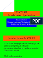 MATLAB-Introduction to Applications