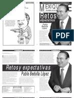 Versión impresa del periódico El mexiquense 10 de diciembre 2012