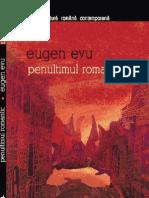 Eugen Evu - Penultimul Romantic - Poeme