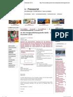 An die Energieschlichtungsstelle Berlin - 09. Dezember 2012! - Pressemitteilung - Presseportal - Pressemeldungen kostenlos veröffentlichen. - 10. Dezember 2012