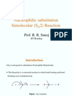Nucleophilic Substitution Reaction (SN2)-1