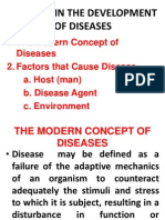 Factors in the Development of Diseases