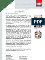 BESSEY neuer Katalog 2012/2013 - Presseinformation