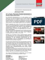 BESSEY Messenachbericht Int. Eisenwarenmesse Köln - Presseinformation