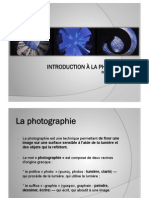Introduction à la photographie - Part 01