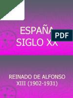 ESPAÑA SIGLO XX.ppt