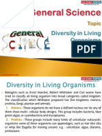 38(A) Diversity in Living Organisms