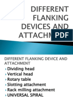 Different Flanking Devices and Attachment