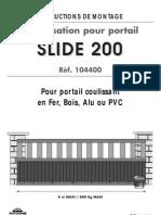 Avidsen Slide 200-Notice 104400 G3