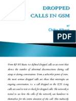 RF Dropped Calls (GSM) by Chika Albert