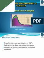 7. Decline Curve Analysis