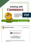 Marketing with Confidence - Jennifer Barthe