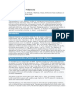 Primary Anorectal Melanoma