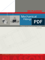 Plasson Mehanical Fittings