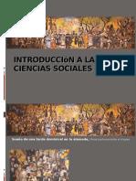 Introducción a Las Ciencias Sociales Unidad 1