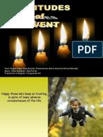 Beatitudes of Advent