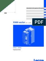 Information for Operator 9300vector 0,37-11kW v1-0 En