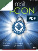 IEEE-MSIT I-CON (October, 2011)