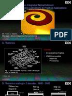 Ibm-nanophotonics-Vlasov CLEO Plenary 05092012
