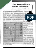 Rf Sniffer Informant