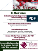 December News & Views Newsletter from the Greater Watertown-North Country Chamber of Commerce