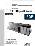 Manual XGB CANopen English 10310001245 V1.1