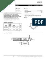 i Cl 8013 Data Sheet