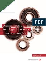 Folheto Dout SocioEconOrg.U.V