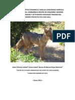Fauna tramo El Varillal del Sendero de Chile