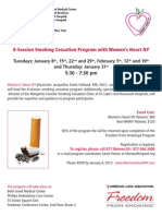 Smoking Cessation Program with Women's Heart NY