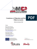 Consistency of M D in Austria