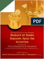 Explanation of the Hadeeth
