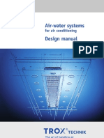 Air-Water Systems for Air Conditioning Design Manual