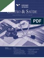 Cadernos FGV Projetos nº 3 - Gestão & Saúde