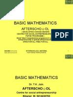 Basic Mathematics 1