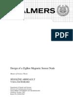 Design of a ZigBee Magnetic Sensor Node