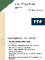 modalidades de la investigacion