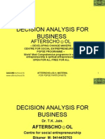 Decision Analysis for Business