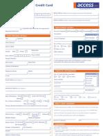 Visa International Application Form