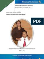 INFORME MISIONERO A DICIEMBRE - LAURELES, MEDELLÍN - DISTRITO 9