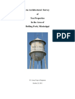 Architectural Survey of Rolling Fork, MS