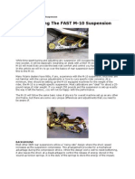 team fast m-10 universal snowmobile suspention
