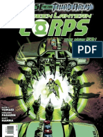 Green Lantern Corps Issue 15 Exclusive Preview
