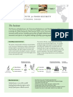 Global Institute for Food Security backgrounder