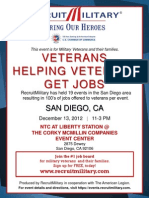 San Diego Job Fair