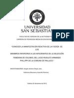 Proyecto Fisiologia Del Ejercicio