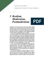 Realism, Modernism, Postmodernism - Jeremy Hawthorn[1]