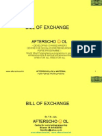 Bill of Exchange