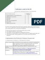 ePSI Platform PSI Scoreboard Indicator description